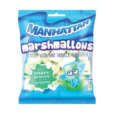 Manhattan Marshmallows Cream Soda & Vanilla 150G