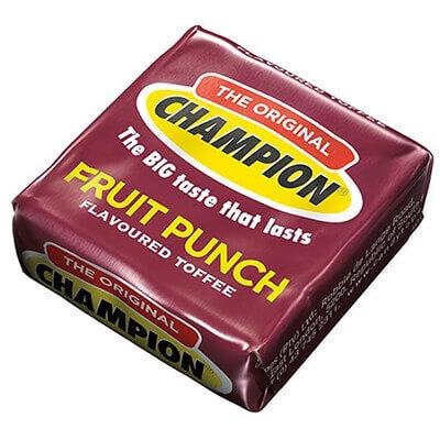 Champion Toffee Fruit Punch 9G Sweets And Chocolates