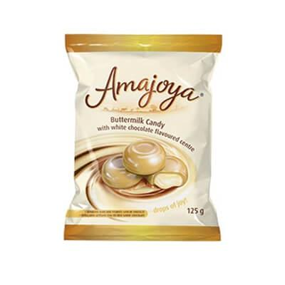 Amajoya Buttermilk Candy White Chocolate 125G