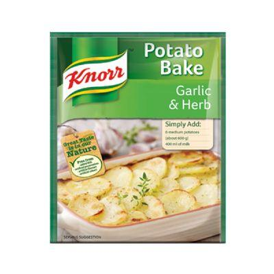 Knorr Potato Bake Garlic & Herb 43G