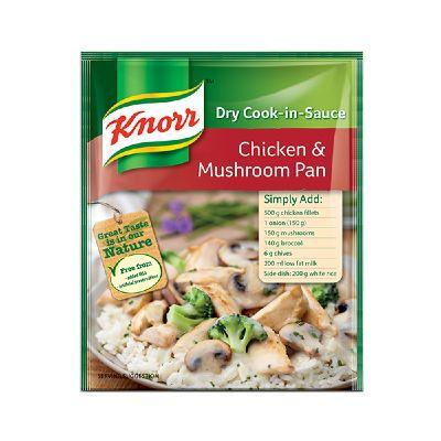 Knorr Cook in Sauce Chicken & Mushroom Pan 48G