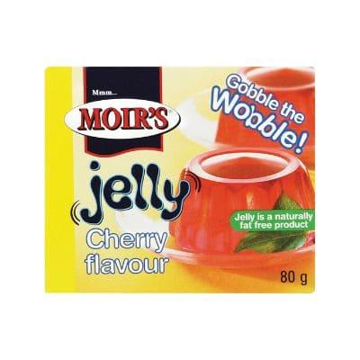 Moir's Jelly Cherry 80G