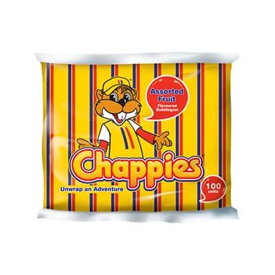 Chappies Assorted Fruit 100s