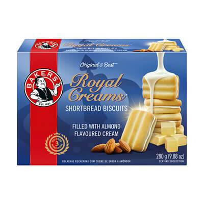 Bakers Royal Creams 280g