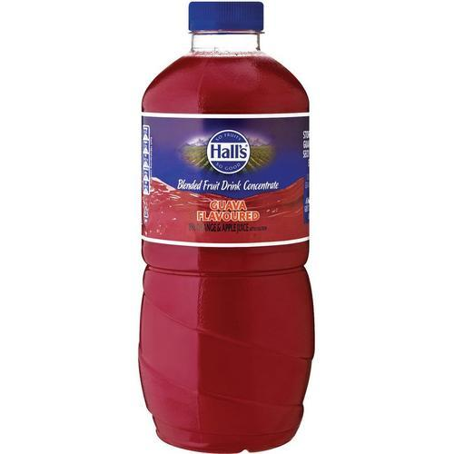 Halls Thick & Fruit Guava Concentrate 1.25L