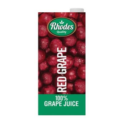 Rhodes Red Grape Juice 1L