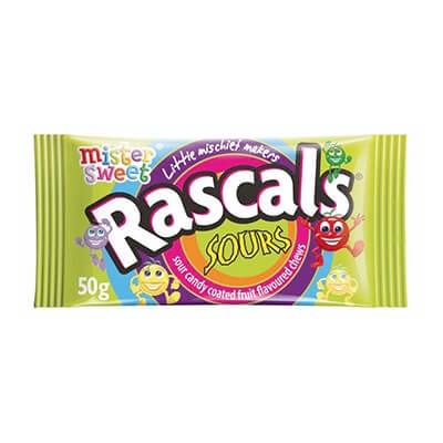 Mister Sweet Sour Rascals 50G Sweets And Chocolates