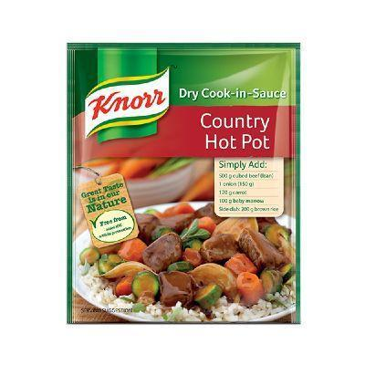 Knorr Cook in Sauce Country Hot Pot 48G