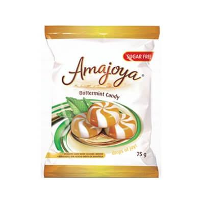 Amajoya Sugar Free Buttermint Sweets 75G
