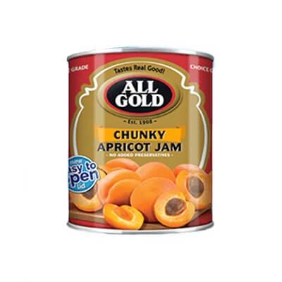 All Gold Chunky Apricot Jam 450G