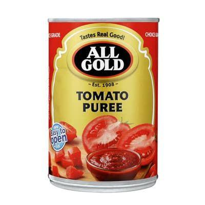 All Gold Tomato Puree 410G Tinned