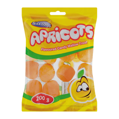 Baxtons Apricots 200G Sweets And Chocolates