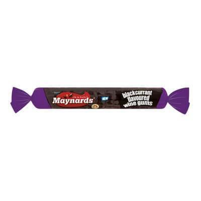 Beacon Maynards Blackcurrant Wine Gum Roll 39G