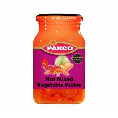 Pakco Hot Mix Vegetable Pickle 385G