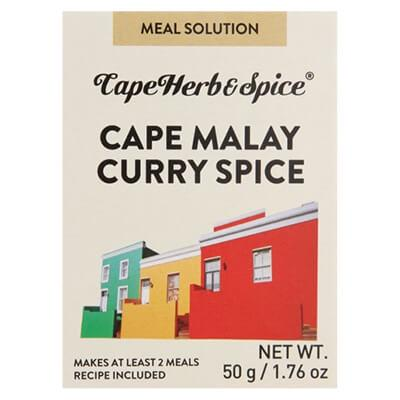 Cape Herb & Spice Cape Malay Curry Spice 50G