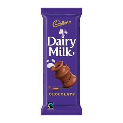 Cadbury Slab Dairy Milk 80G