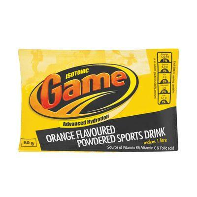 Isotonic Game Powder Orange 80G