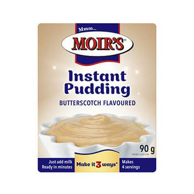Moir's Pudding Butterscotch 90G