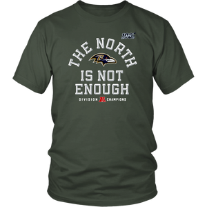 Mens The North Is Not Enough Baltimore Ravens Shirt