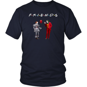 Original Friends Pennywise With Joker shirt