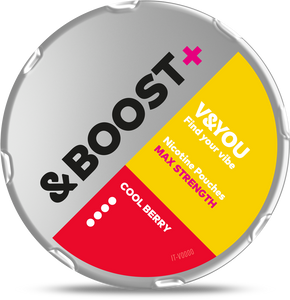 V&YOU &Boost+ Cool Berry – 27mg/g