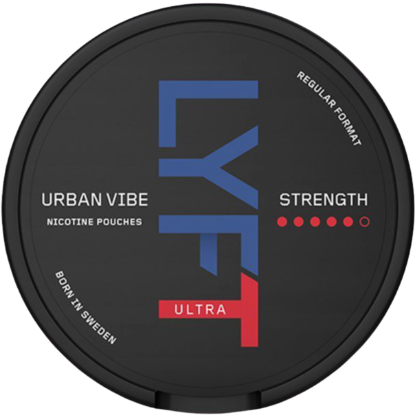 LYFT Urban Vibe Ultra  – 18mg/g