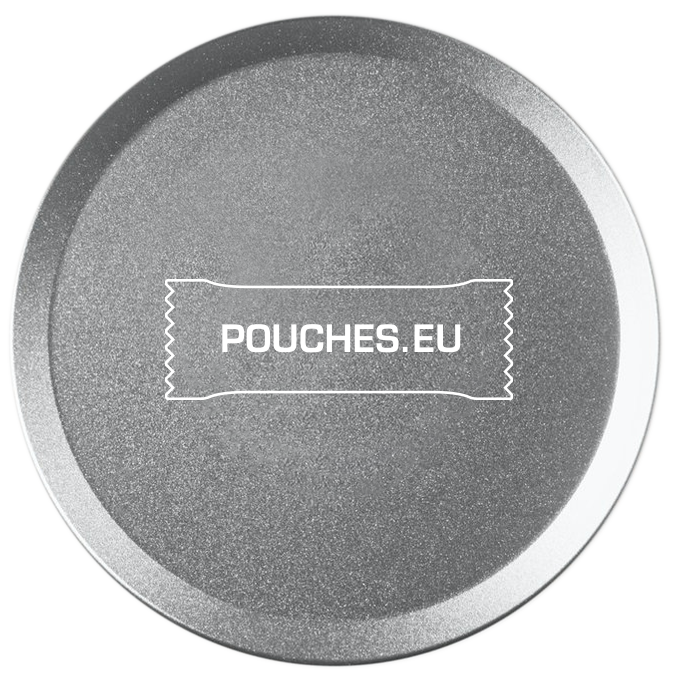 Pouches Can Small Silver