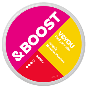 V&YOU & Boost Berry - 16mg / g