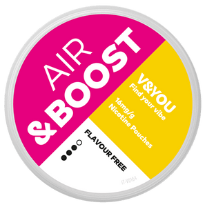 V&YOU & Boost Air Flavor Free - 16mg / g