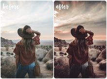 Load image into Gallery viewer, Dark Vintage Mobile Preset