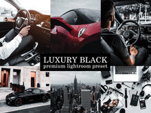 Load image into Gallery viewer, Luxury Black Mobile Preset