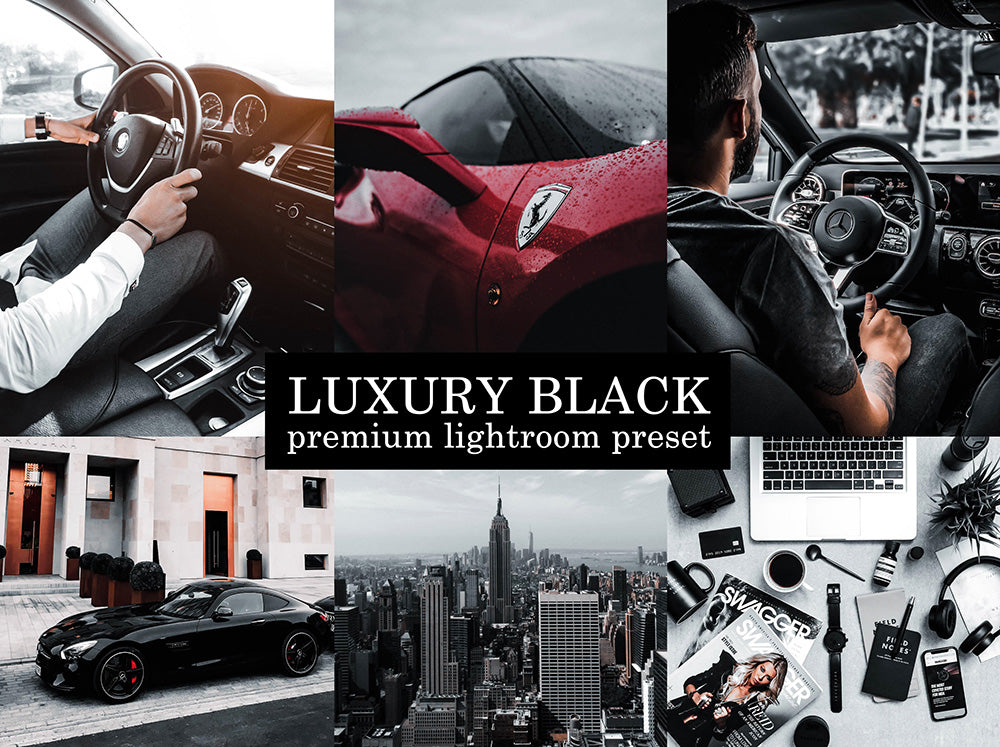 Luxury Black Mobile Preset