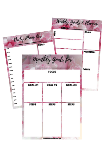 My Organized Life Printables Pack