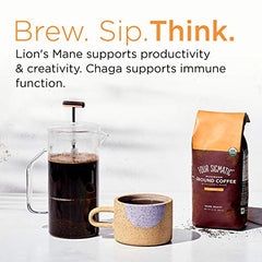 Organic Fair Trade Coffee with Lions Mane