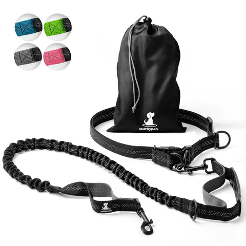 Hands-Free Dog Leash, Reflective for Walking, Jogging and Running
