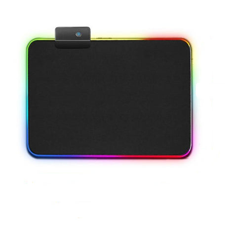 Black RGB Mouse Pad