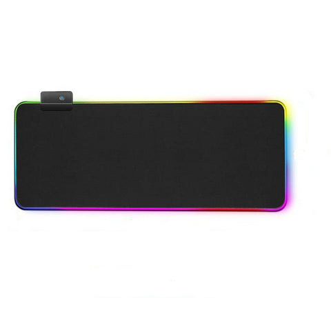 Black RGB Mouse Mat