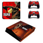 Red Dead Redemption 2 Decal For Playstation 4 Console