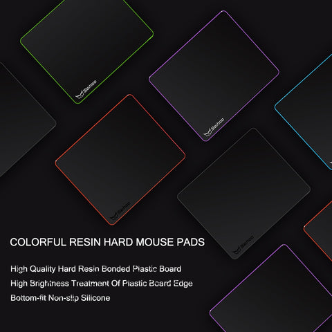 Matte Resin Surface Hard Mouse Mat