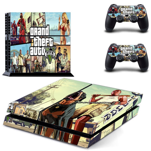 Grand Theft Auto 5 Decal For PS4 Console