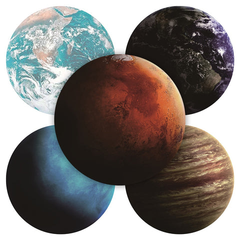 Round Planet Mousepad