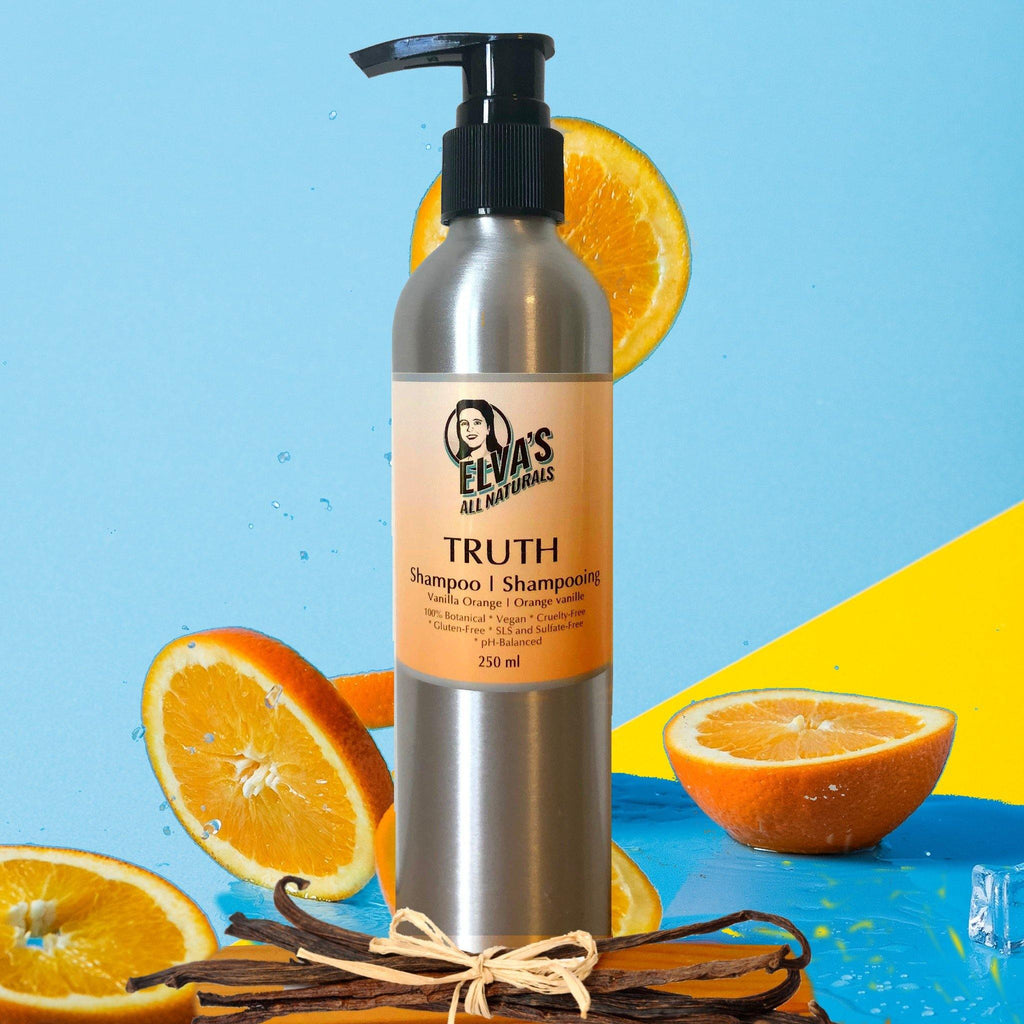 TRUTH Shampoo | Vanilla Orange | Vegan & Sulfate-Free - Elva's All Naturals