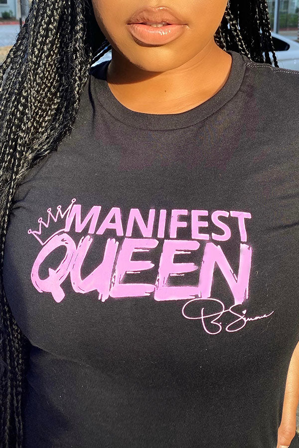 Load image into Gallery viewer, Manifest Queen T-Shirt
