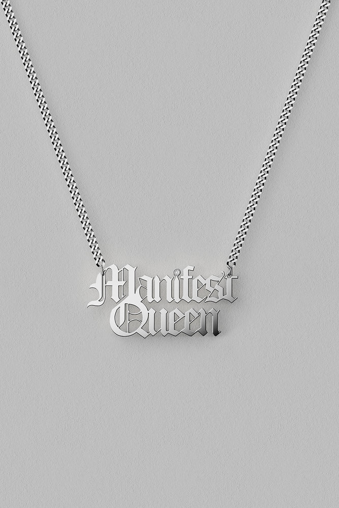 Load image into Gallery viewer, Manifest Queen Necklace