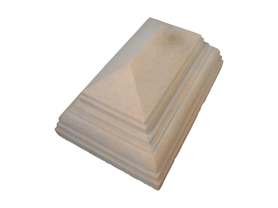 Peak Pillar Cap - 380x255x170mm - NewMould