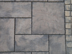 Old York Flagstone Paving - 225x225x37mm - NewMould
