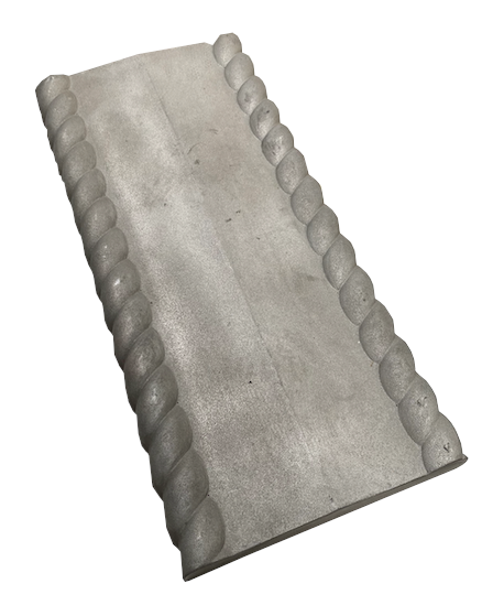 Rope Twist Coping - 600x280x47mm - NewMould