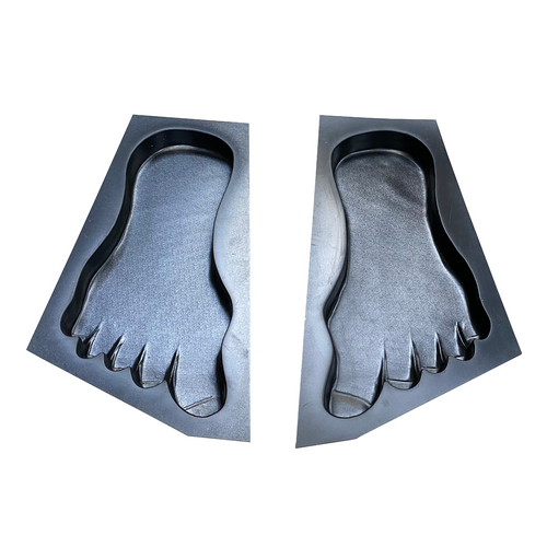 Right & Left Foot Print - 640x340x50mm - NewMould