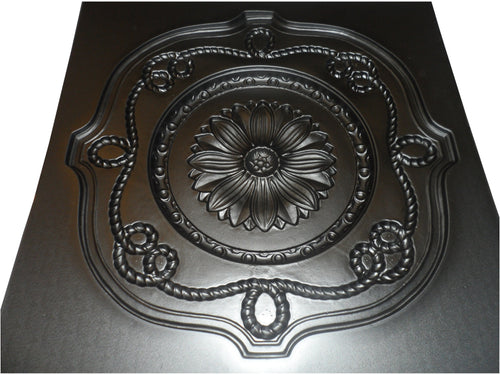 Tudor Rose Ceiling Plaster mould - 615x615x50mm - NewMould
