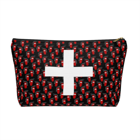 First Aid Accessory Pouch w T-bottom - Fire Extinguishers